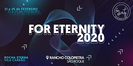 FOR ETERNITY 2020 ingressos