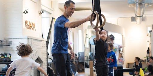Ninja Garden: Mini Obstacle Course for Kids!