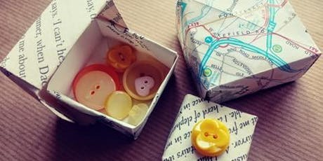 Origami Gift Boxes Workshop at the Nottingham Makers and Vintage Market tickets