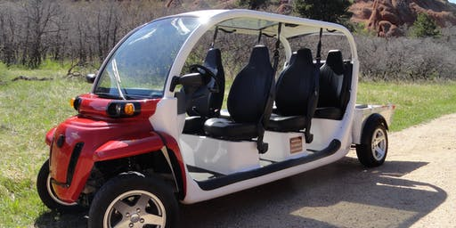 Rox-Ride: 5 Passenger Electric Golf Cart