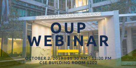 OUP Webinar: Open Source Business Models tickets