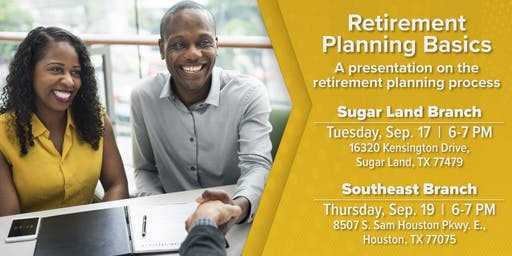 Retirement Planning Basics Seminar-Southeast