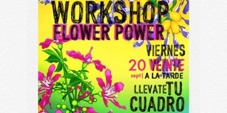 Workshop Flower Power  con Marcela Mouján entradas