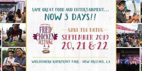 National Fried Chicken Festival tickets