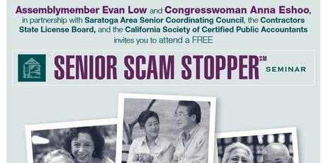 Senior Scam Stopper Seminar tickets