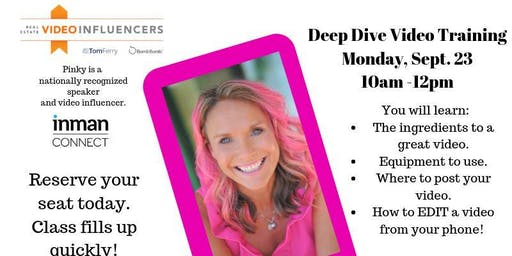 Deep Dive Video Class with Sue Pinky Benson
