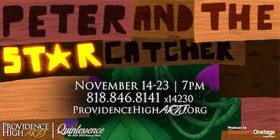 Providence High Arts Presents: Peter and the Starcatcher (11/21)