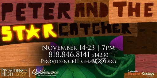 Providence High Arts Presents: Peter and the Starcatcher (11/23)