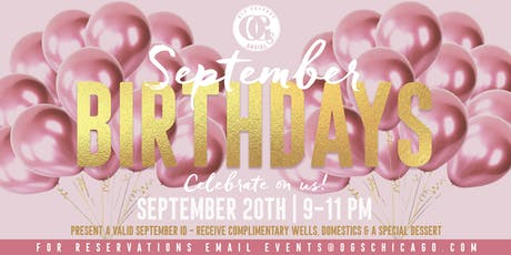 Happy Birthday September Babies! tickets