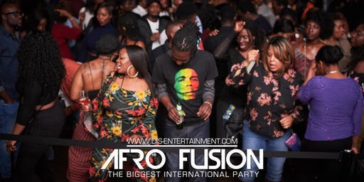 AFRO FUSION LADIES NIGHT:   AFROBEAT, HIPHOP, DANCEHALL, SOCA, LATIN & MORE