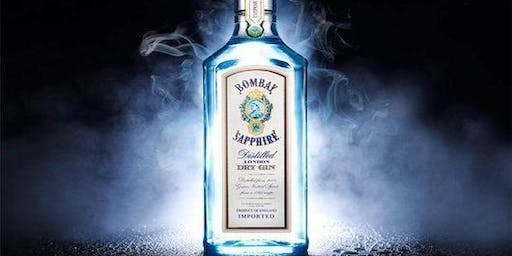 Mixology Class + Appetizers - Featuring Bombay Sapphire