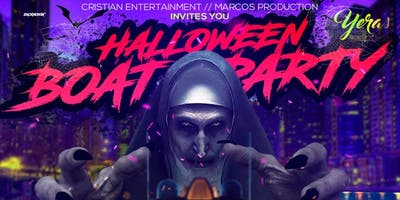 YERAS HALLOWEEN BOAT PARTY - Friday Night Colombian Yacht Cruise