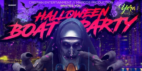 YERAS HALLOWEEN BOAT PARTY - Friday Night Colombian Yacht Cruise tickets