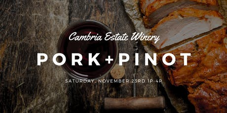 Pork & Pinot/Wine Club Release tickets