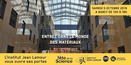 Institut Jean Lamour : Entrez dans le monde des matériaux