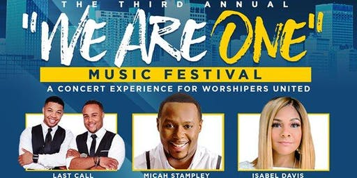 "MEMPHIS PRAISE presents ""WE ARE ONE"" Music Festival"