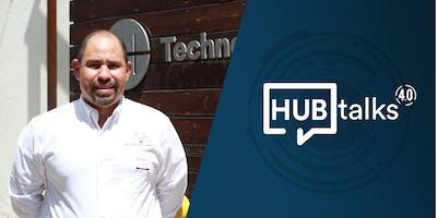 """HUBtalk 4.0 """"Los drones en el mundo empresarial"""" por Jaime Ortíz"""