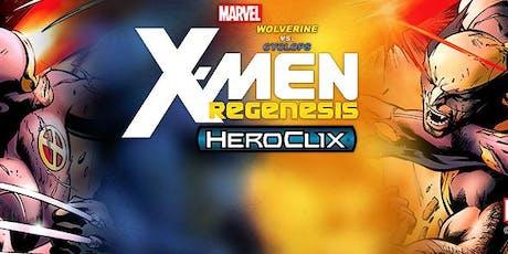 Marvel HeroClix: Wolverine vs. Cyclops: X-Men Regenesis month 3 (Final) tickets