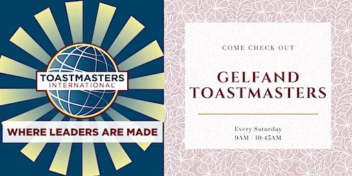Gelfand Toastmasters Club
