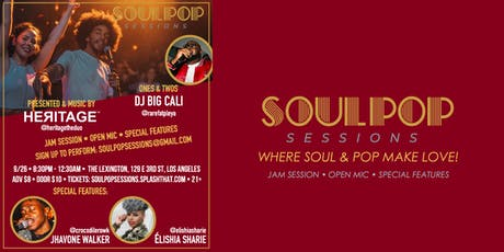 Soul Pop Session (Live Music Party) tickets