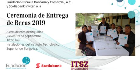 Ceremonia de Entrega de Becas 2019 entradas