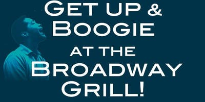 No plans tonight? Get up & Boogie at the Broadway Grill with Pure Ecstasy