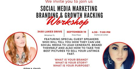 Social Media Marketing & Growth Hacking tickets