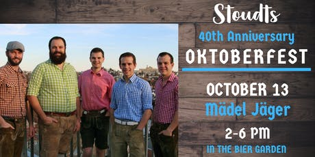 40th Anniversary Oktoberfest with Maedel Jaeger tickets
