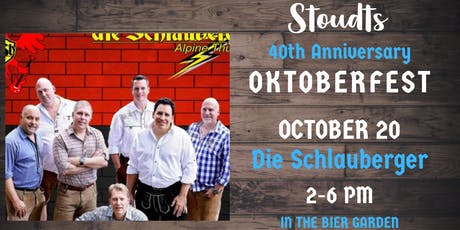 40th Anniversary Oktoberfest with die Schlauberger tickets
