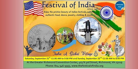 Festival of India 2019 tickets