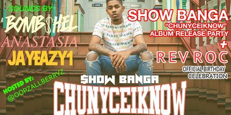 HAYARI + SHOW BANGA ALBUM RELEASE PARTY + REV ROC OFFICAL BIRTHDAY CELEBRATION tickets