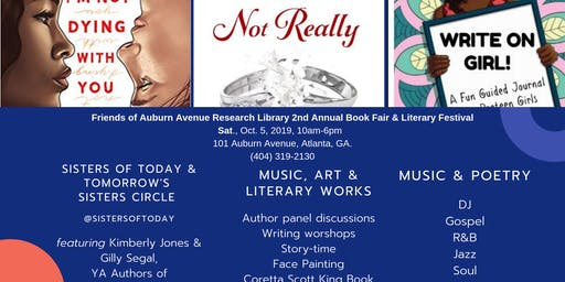 SISTERS OF TODAY & TOMORROW BOOK FAIR TALK BACK & LIT FEST (Sisters Circle)