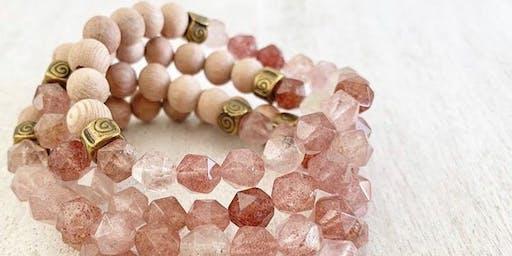 Power of Pink Aromatherapy Bracelet Making Workshop
