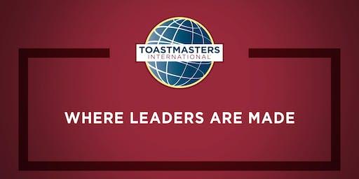 Toastmasters Speakeasies Club 1401 Open House