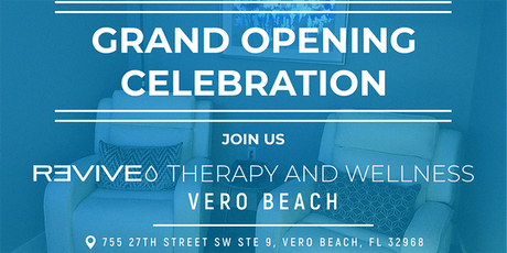 Grand Opening Celebration of Revive VERO BEACH tickets
