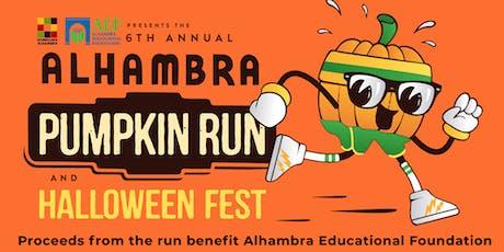 Alhambra Pumpkin Run Pumpkin Pie Baking Contest tickets