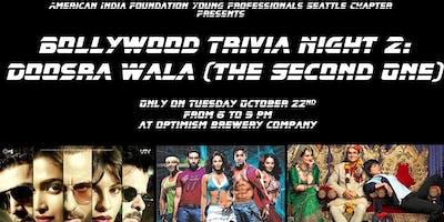 Bollywood Trivia Night 2: Doosra Wala (The Second One)