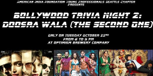 Bollywood Trivia Night 2: Doosra Wala (The Second One)