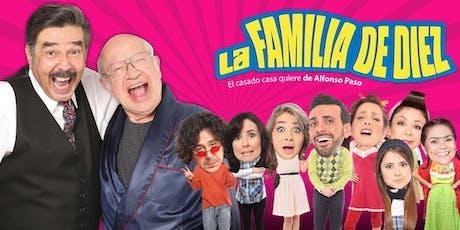 La Familia de Diez tickets