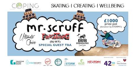 Future Savings Presents - Coping | Mr Scruff | Dub Smugglers | More TBA tickets