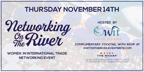 Networking On The River for Women in International Trade with OWIT  tickets