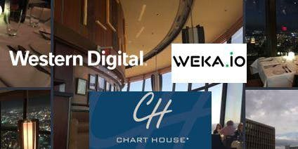 Join WekaIO and Western Digital for Dinner & NVMe - The Future of High Performance Storage (during SEG conference)  Monday, Sept. 16th, 7pm at the Chart House!