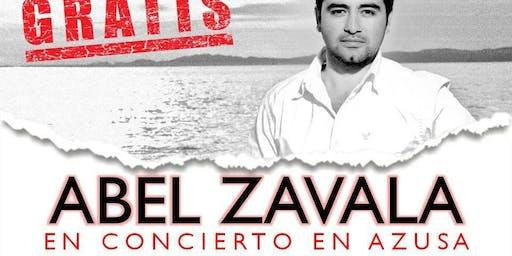 Concierto con Abel Zavala