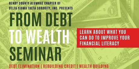From Debt to Wealth tickets