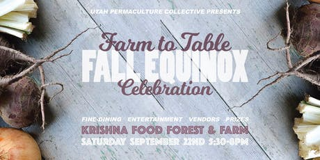 Farm to Table Dinner Celebration tickets