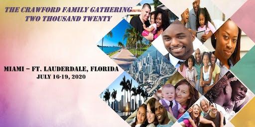 2020 Crawford Family Gathering
