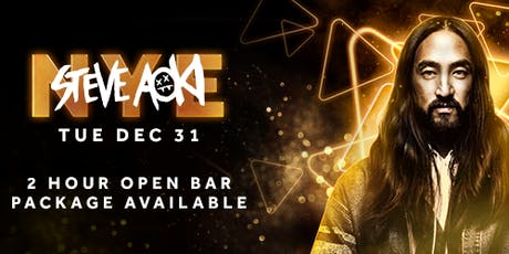 Steve Aoki - Las Vegas New Year's Eve 2020 tickets