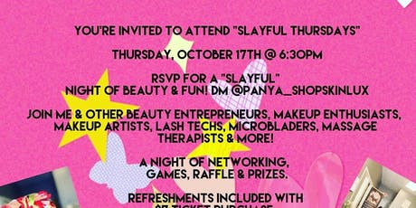 Slayful Thursday's tickets