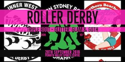 ROLLER DERBY - WESTERN SYDNEY ROLLERS - Round 3