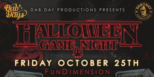 DAB DAY: HALLOWEEN GAME NIGHT